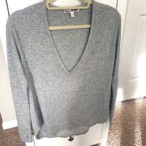Express deep v-neck sweater